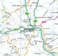 Powys County Planning Wall Map